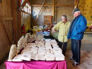 Adventsmarkt in der Alten Gutsage Mölschow Insel Usedom